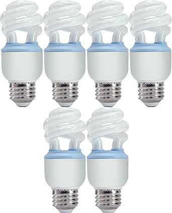 GE Reveal CFL 10 Watt (40 watt replacement) Spiral Light ...