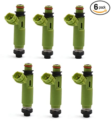 4-Hole Genuine BOSCH Fuel Injector Set of 6 Update Upgrade