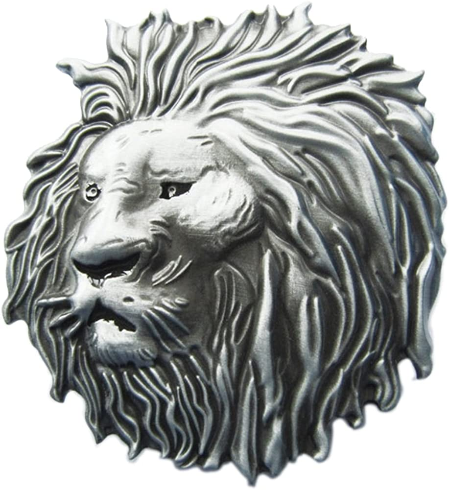 Urban Backwoods Lion I Hebillas de cinturón Belt Buckle