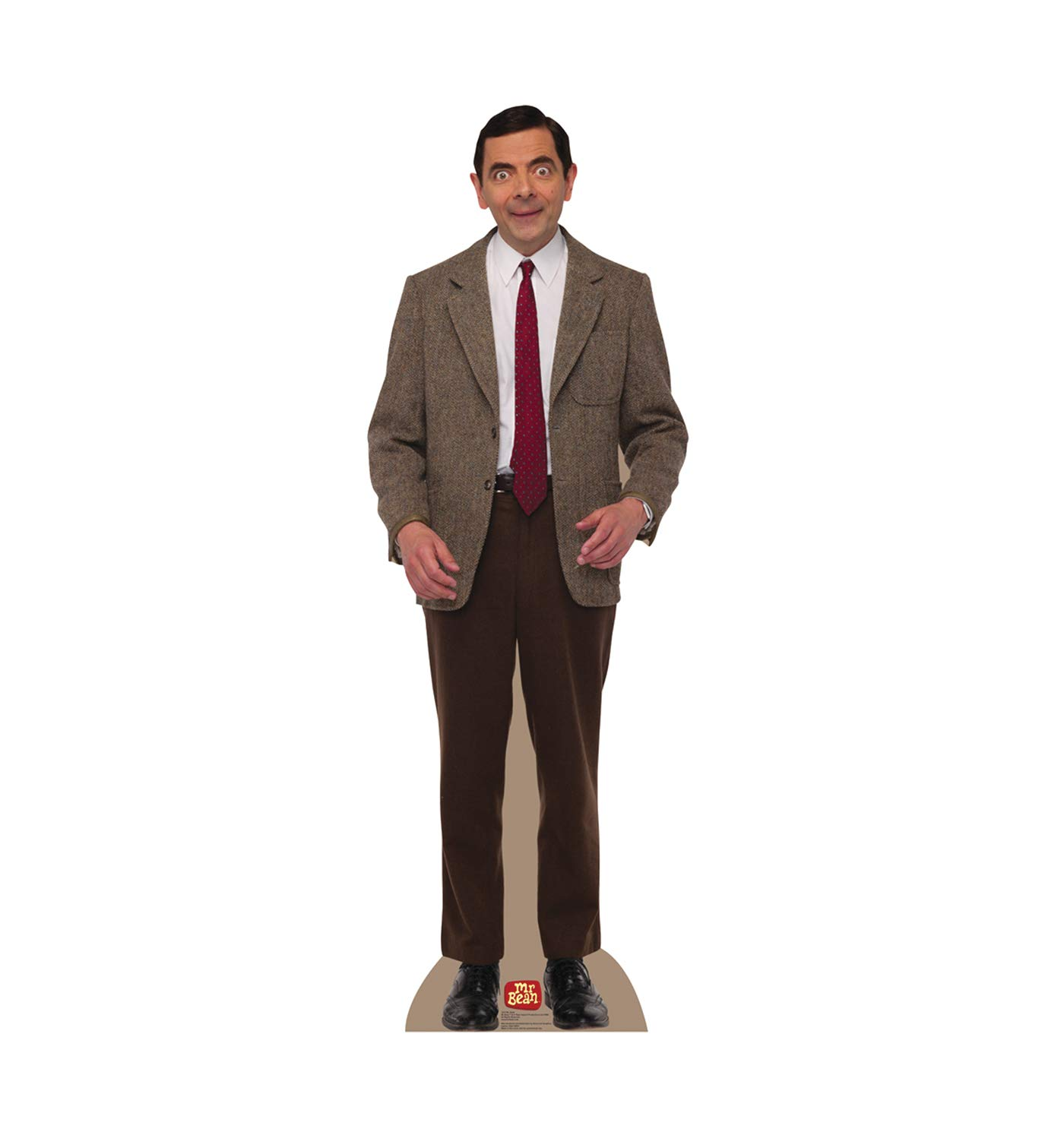 Buy Cardboard People Mr Bean Life Size Cardboard Cutout Standup Online At Low Prices In India Amazon In