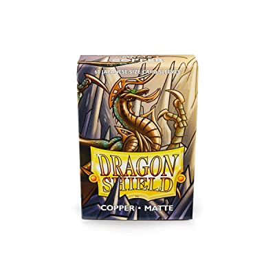 Arcane Tinmen Sleeves: Dragon Shield Matte Japanese Copper (60): Toys & Games [5Bkhe1000544]