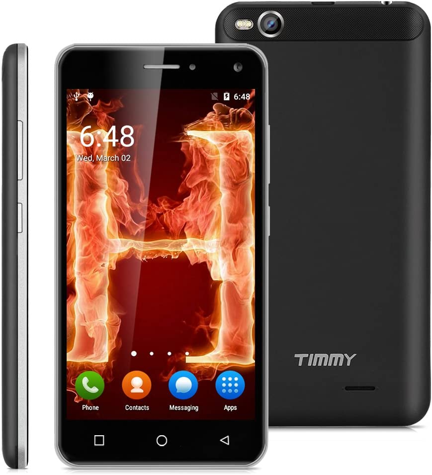 Timmy X9 - 3G Smartphone Libre Android 5.1 Multitáctil (Pantalla IPS 5.0
