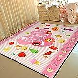 Best Bid Offer Cute Cartoon Home Decoration Area Rugs Environmental Anti-slip Bedroom/Living Room Carpet Yoga...