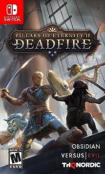 Pillars of Eternity II: Deadfire - Nintendo Switch: Thq     - Amazon com