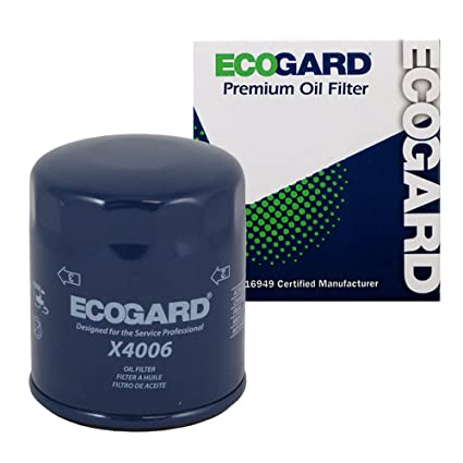 Amazon.com: ECOGARD X4006 Spin-On Engine Oil Filter for Conventional ...