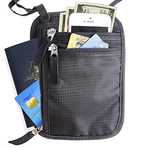 Passbook Anti theft Security Adjustable RFID Blocking