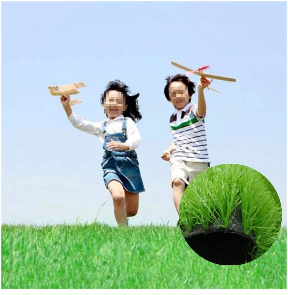 Amazon Com Ghhzzq Artificial Grass Synthetic Lawn High Density Durable Lawn Carpet Playground Football Field 538 Square Feet Color 4cm Size 2x25m Home Kitchen