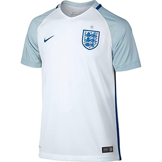 Nike Kids England Home Stadium Soccer Jersey - Large- White