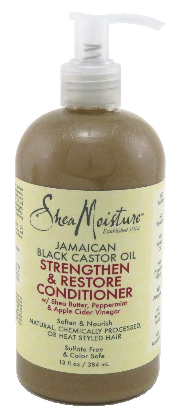 Shea Moisture Jamaican Black Castor Oil Rinse-Out Conditioner, 384ml 215548