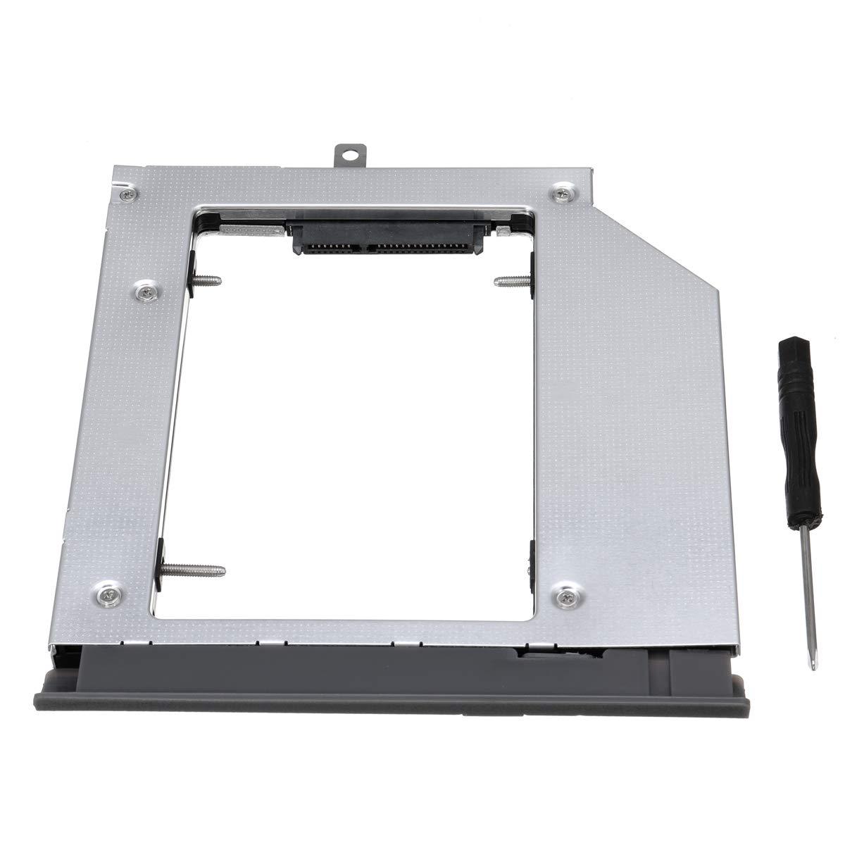 DyNamic Portable Lecteur Optique Baie Disque Dur Caddy pour Lenovo LIntention 320 330 520 Converter