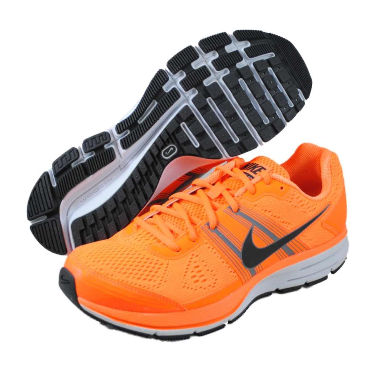 size 40 7b0cd 350d9 Nike - Air Pegasus+ 29 Uomo, (Total OrangeBlack-Dark Grey-Pure Platinum),  43.5 EU Amazon.it Scarpe e borse