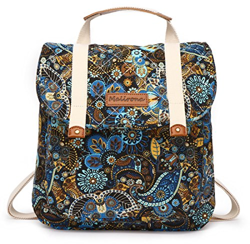 5397d950002b Malirona Women Backpack Purse Convertible Rucksack Backpack for Teen Girls  Floral Backpack Purse Canvas