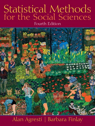 Statistical Methods for the Social Sciences (4th Edition)