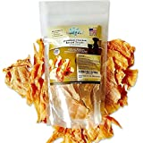 Loyal Paws Dog Jerky Treats - Premium Chicken - Dog Treats Made in USA Only. All Natural - Healthy, No Preservatives, Grain F