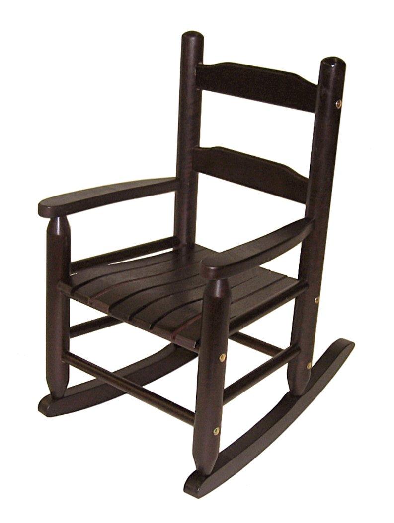 Lipper International Child's Rocking Chair, Espresso by Lipper International