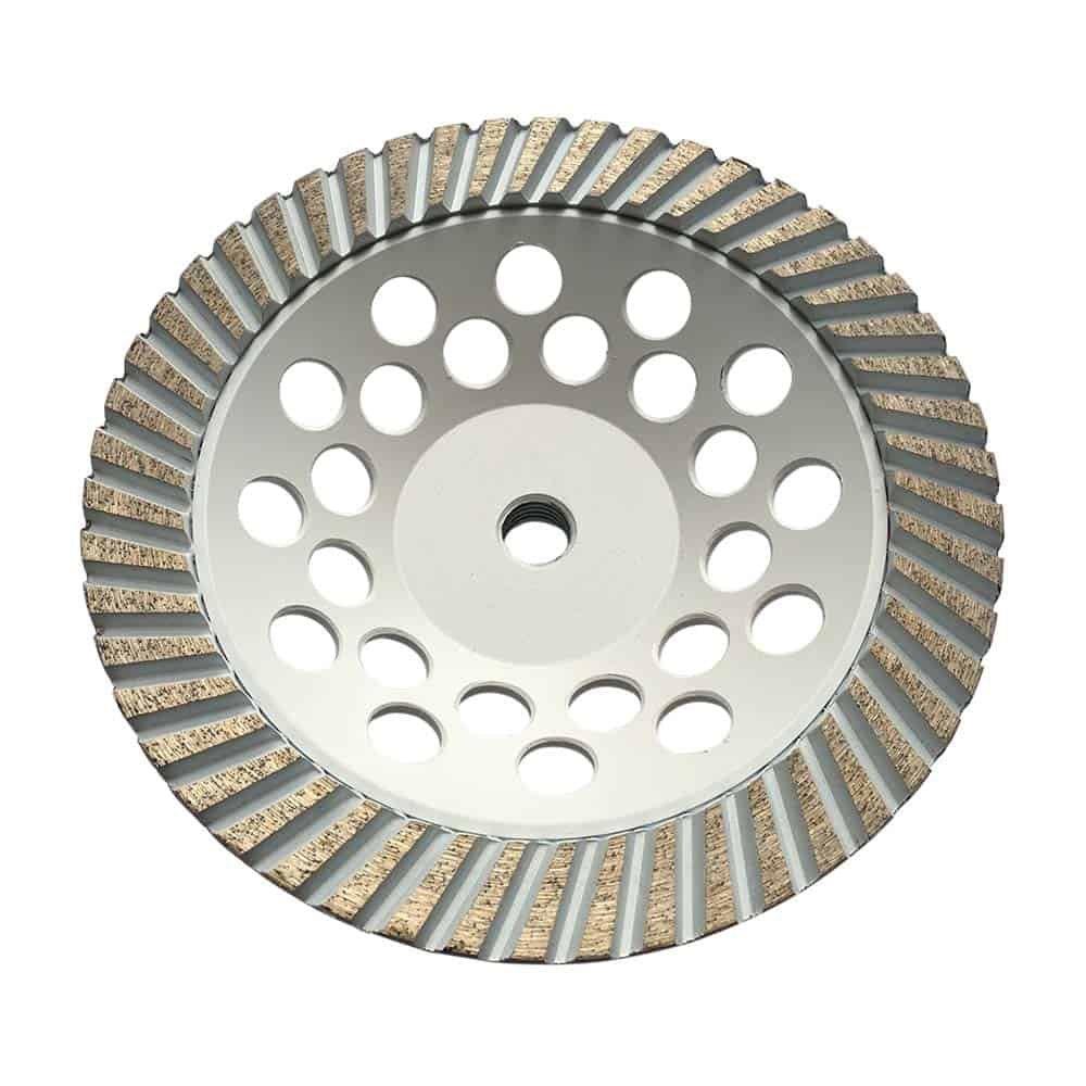 "7/"" Diamond Grinding Wheels for Granite Concrete Marble #80//100 Fine Grit"