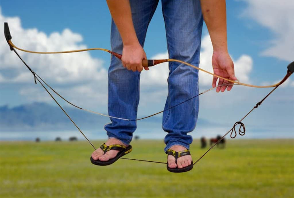 perfeclan Archery Supply Bowstring Install Tool Cuerda Recurvo Long Bow Stringer String