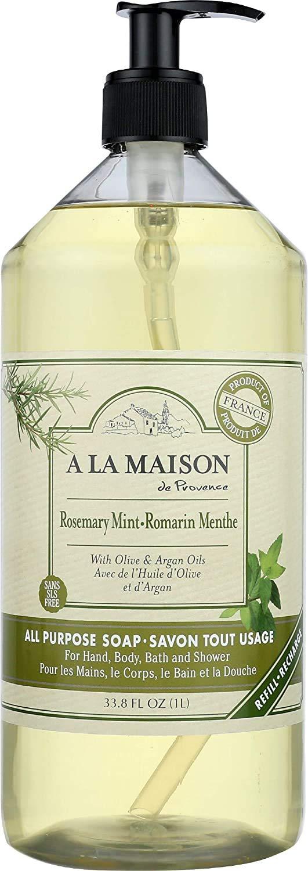 A La Maison Liquid soap - Rosemary Mint -1L