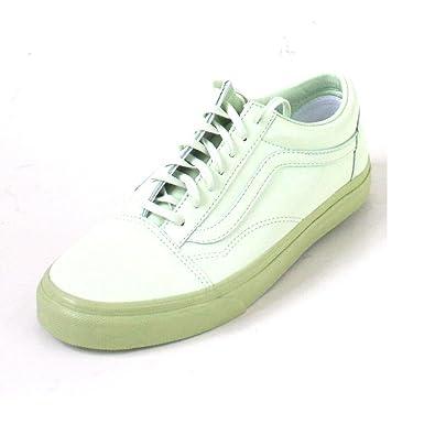 Vans Wmn Old Skool Patent Lth. Sea Green