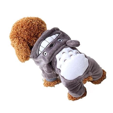 Global Brands Online Yani HP-PC1 Mascota Gato Perro Disfraz Soft Ropa de Abrigo Cartoon
