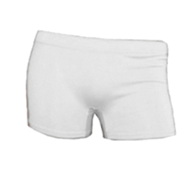 Pantalones cortos para mujer de licra con color de ne/ón UV para fiestas