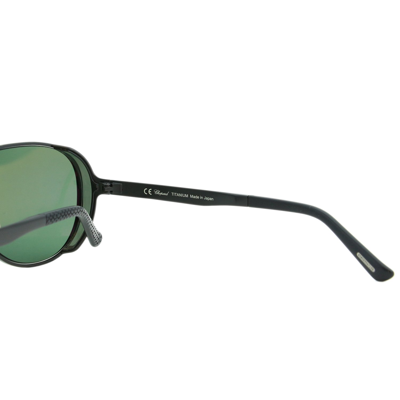4701567575 Chopard Mille Miglia SCH-A81 Men Black Titanium Polarized Aviator  Sunglasses  Amazon.co.uk  Clothing