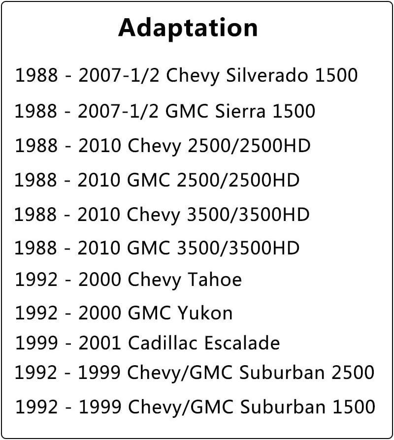 ONNURI For 2006-2011 Chevrolet Impala//Monte Carlo 3.5L 3.9L Motor /& Torque Mount 3pc A5372 A5372 A2906 K1042