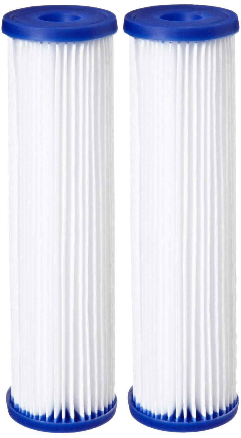 Pentek R30-20BB Pleated Polyester Filter Cartridge, 20'' x 4-1/2'', 30 Microns (Pack of 2) by Pentek