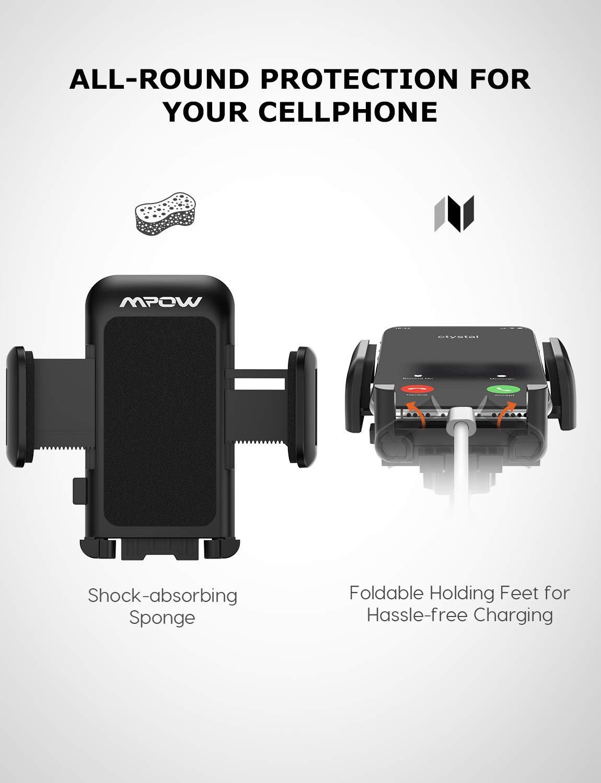 Galaxy S10 // S9 // S8 Google Windschutzscheiben Handyhalter f/ürs Auto mit Anti-Rutsch-Basis Handyhalterung Kompatibles Phone Xs MAX//XS//XR//X // 8//7 // 7P // 6s Mpow Handyhalterung Auto Huawei