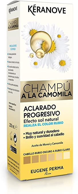 Keranove Champú Aclarante a la Camomila - 250 ml