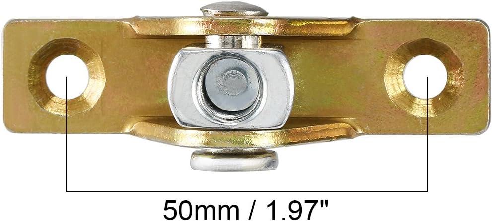 sourcing map 2pcs filetage femelle M8 A3 ressort acier raccord connecteur fin ressort gaz