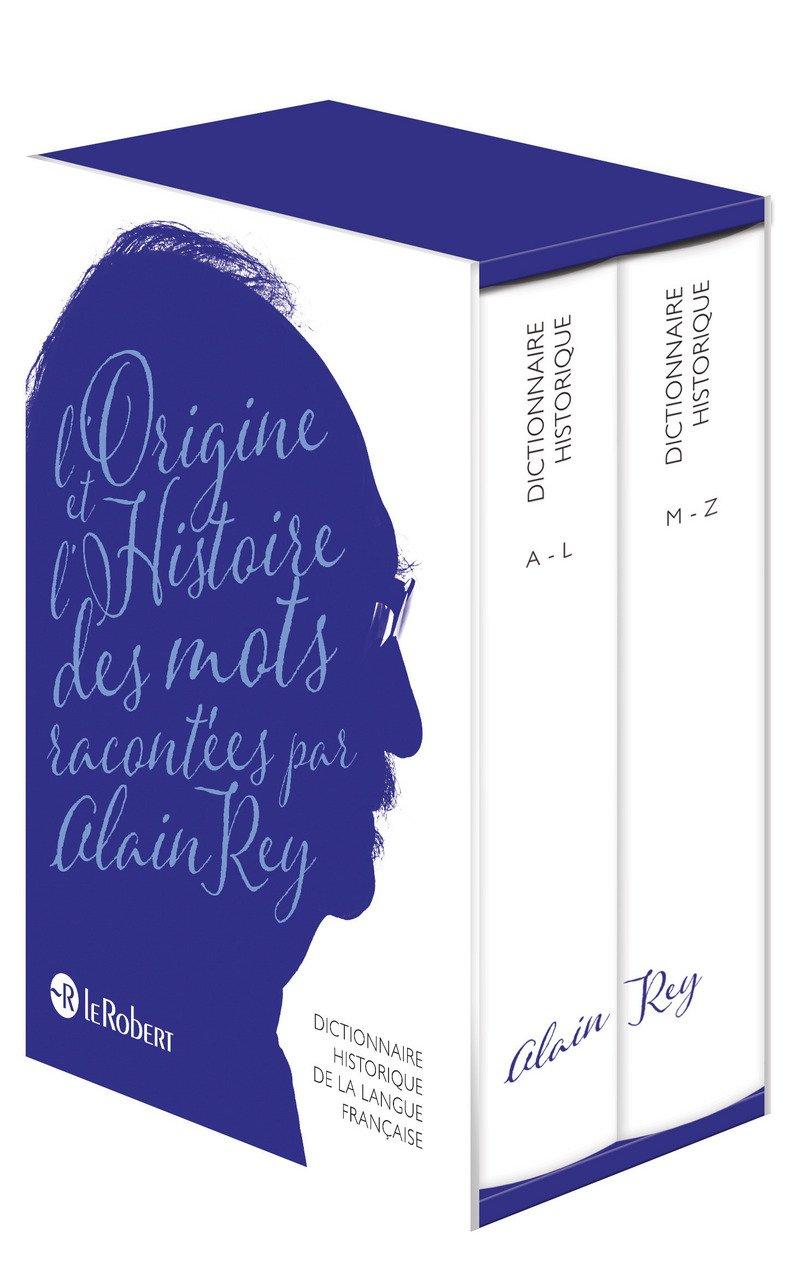 Amazon Fr Dictionnaire Historique De La Langue Française Nouvelle édition Augmentée Par Alain Rey Rey Alain Livres