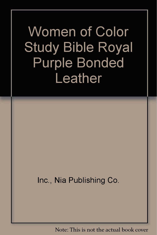Download Women of Color Study Bible Royal Purple Bonded Leather pdf epub