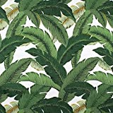 Tommy Bahama Indoor/Outdoor Swaying Palms Aloe Fabric By The Yard