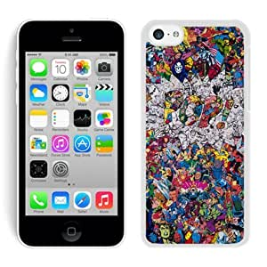 Pop Collage White iPhone 5C Case,personalized design together with Excellent protection