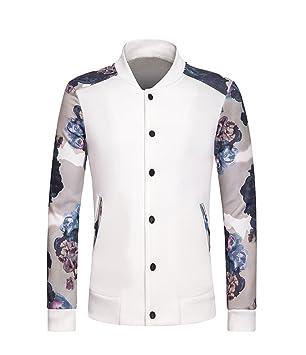 ndsoo Men s Sweater Coat Hombres Chaqueta Confortable Espacio Chaqueta de algodón Casual Sweater,