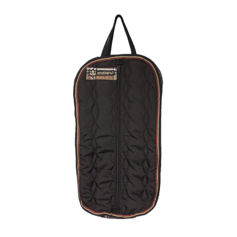 Kensington KPP Roustabout Halter/Bridle Carry Bags, Deluxe Black Plaid, One Size