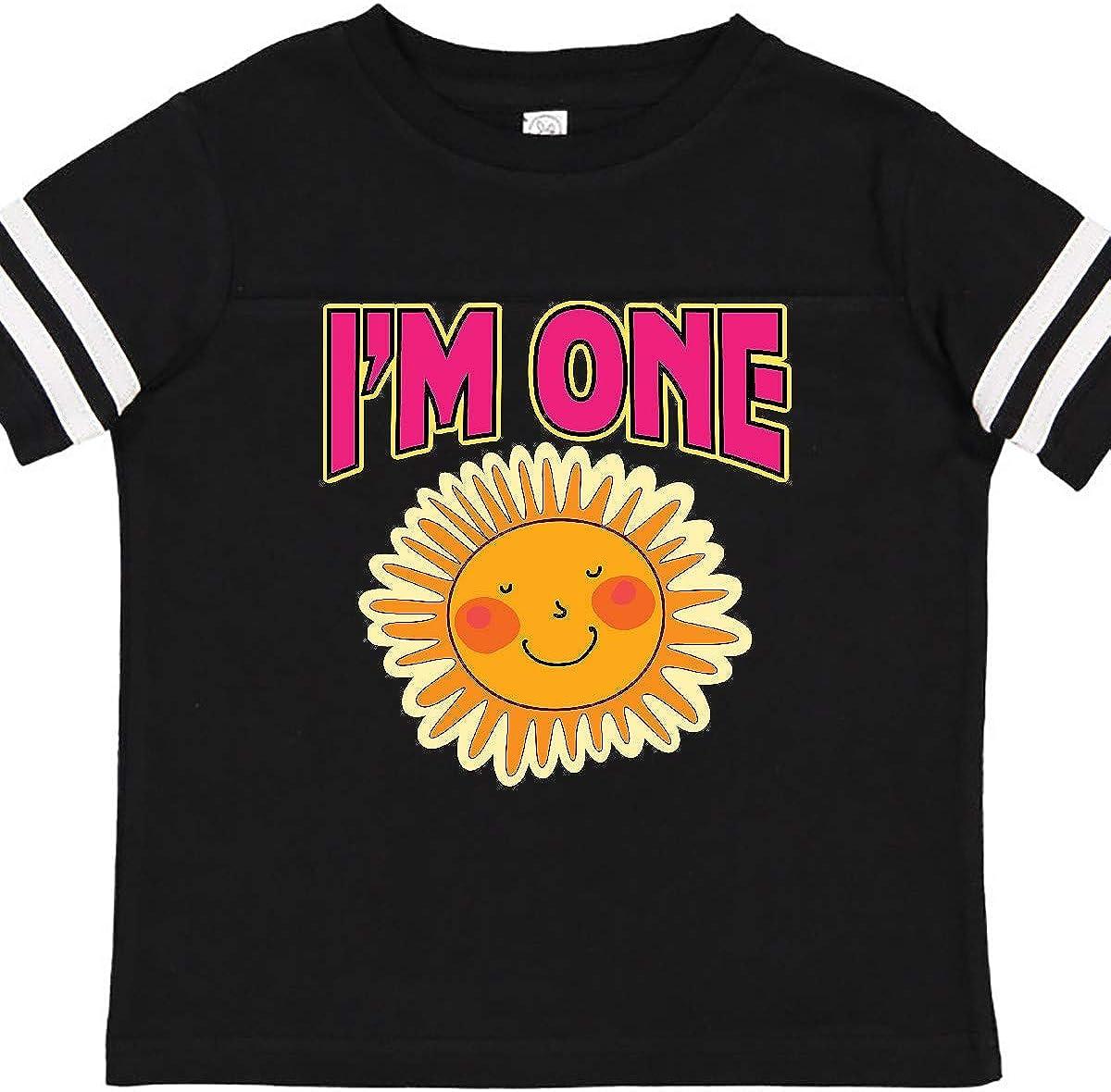 inktastic 1st Birthday Cute Sunshine Toddler T-Shirt
