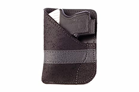Daltech Force PP2 Small Gun Pocket Holster - Concealed Carry CCW Leather  Pocket Gun Holster