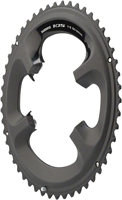 NEW Shimano 105 5800-L 34t 110mm 11-Speed Chainring For 50//34t Black
