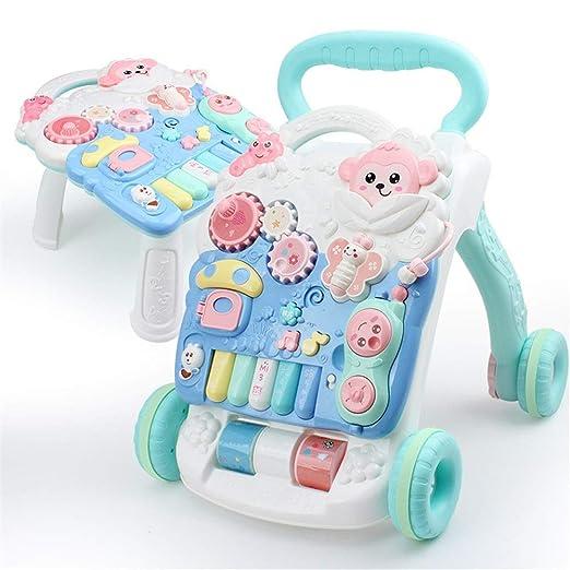 AUMING Andador Primeros Pasos Correpasillos para bebé 2 en 1 ...