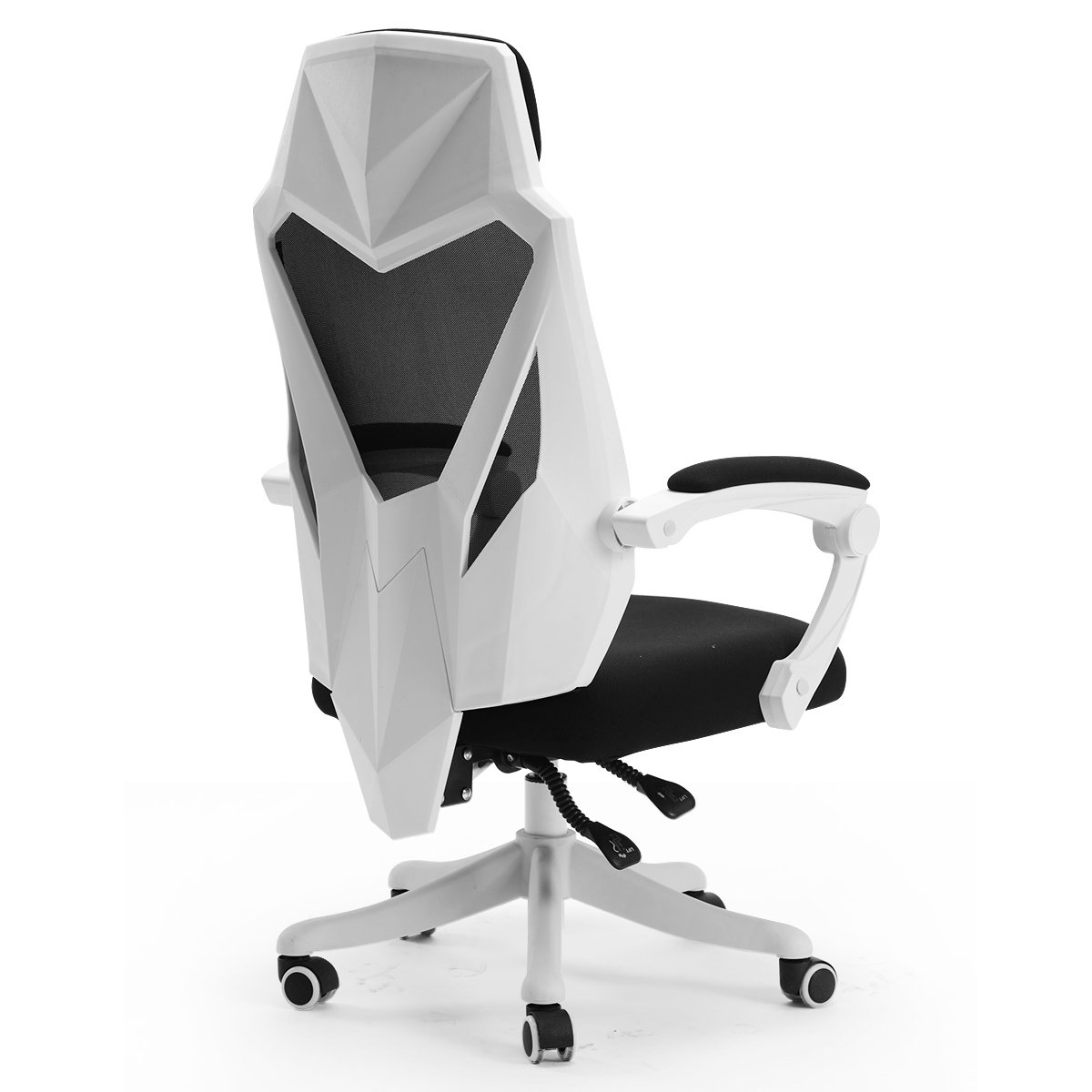 Hbada Office Computer Desk Chair - Ergonomic High-Back Swivel Task Gaming Chair - White by Hbada (Image #2)