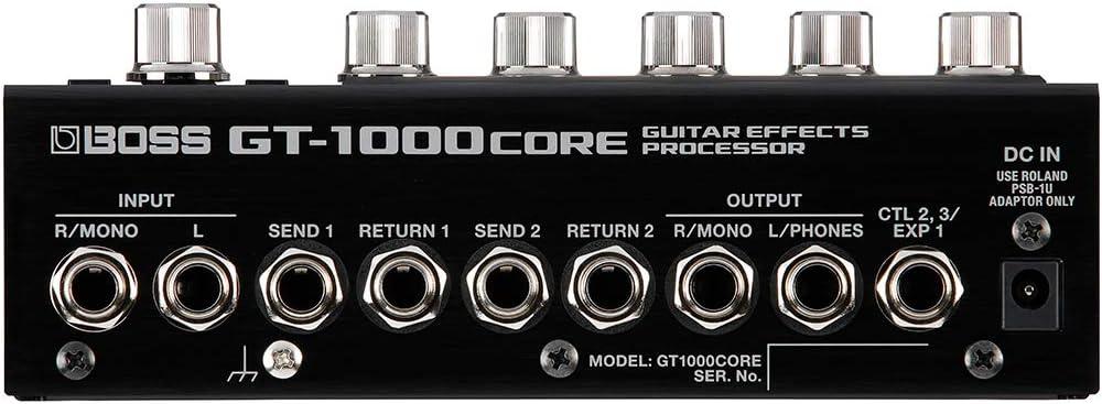 GT-1000CORE:リアパネル