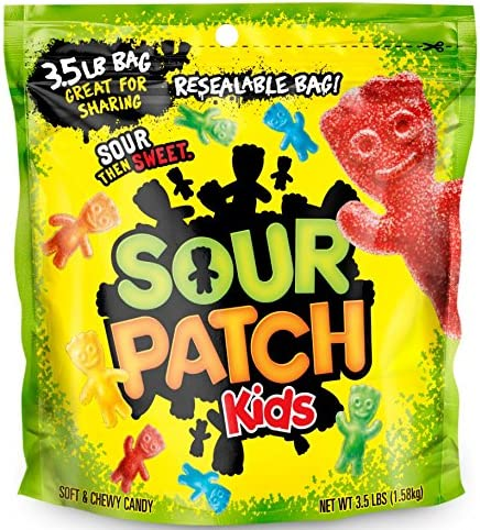 Sour Patch Kids Bag Drs 3 5 Pounds By Sour Patch Foods Amazon Co Uk Grocery