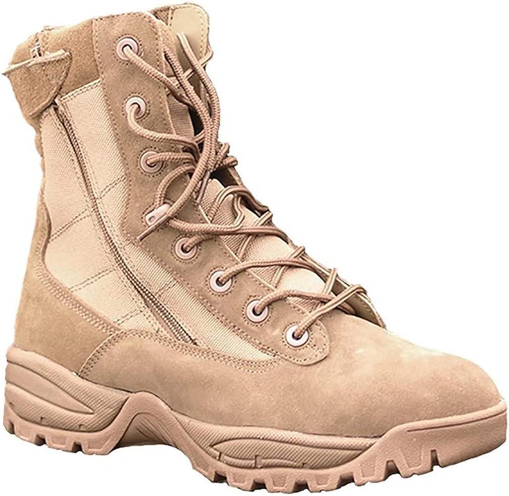 Mil Tec Tactical Boots Two Zipper schwarz: : Schuhe