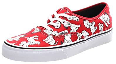 6e3929de8dd Vans Authentic Disney Dalmatians Red Shoe V3Z3I0I (UK8)  Amazon.co ...