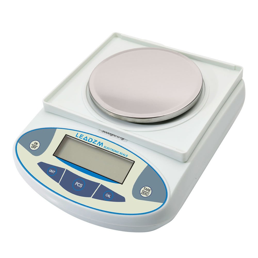 3000g/0.01g Precision Balance Scale LCD Digital Scientific Lab Instrument Laboratory Scale White Electronic Analytical Balance by Mont Pele (Image #3)