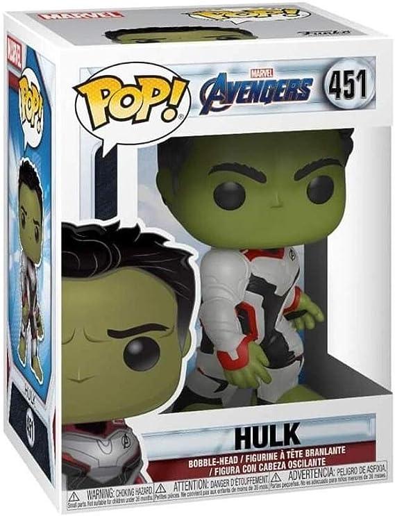Marvel Avengers Endgame HULK #451 Vinyl Figure NEW /& IN STOCK NOW Funko Pop
