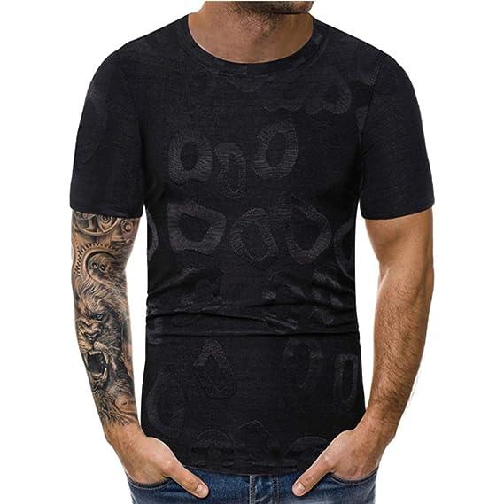 ESAILQ-Camiseta de equipación de Manga Corta para Hombre: Amazon.es: Ropa y accesorios