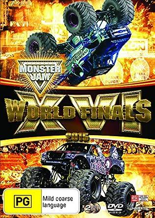 Amazon com: Monster Jam 16 2015 World Finals | NON-USA